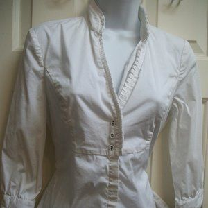 Mexx White Blouse size 36 (equals 6)